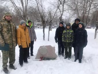 Лицеисты приняли участие в мероприятиях, посвященных Дню Неизвестного солдата